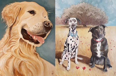 A képen kutya, ülő, keresés, barna látható  Automatikusan generált leírás